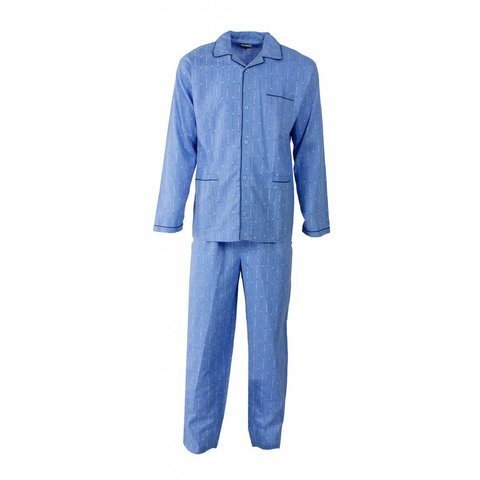 Paul Hopkins Heren Pyjama Blauw
