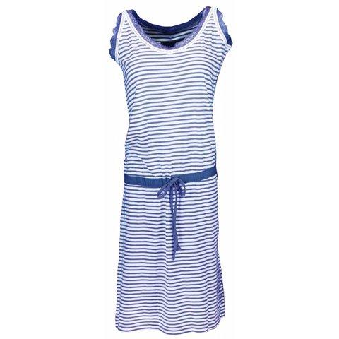 Irresistible Dames Nachthemd Blauw streep