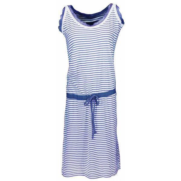 Irresistible Irresistible Dames Nachthemd Blauw streep