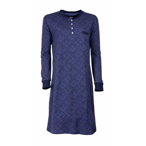 Irresistible Dames Nachthemd Blauw  IRNGD2608A