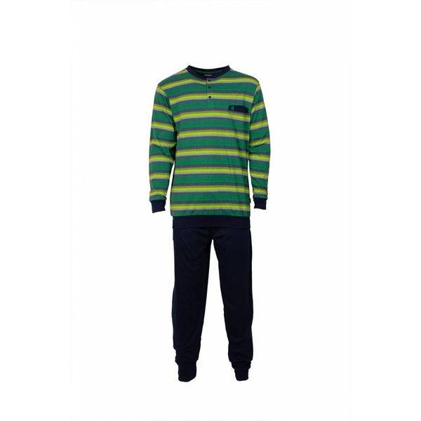 Paul Hopkins Paul Hopkins Heren Pyjama Streep Groen