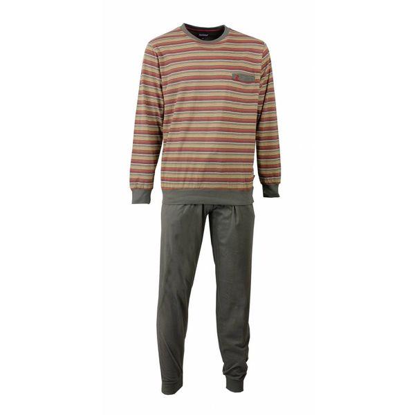 Paul Hopkins Paul Hopkins Heren Pyjama Streep Grijs - Rood