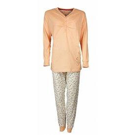 Tenderness Tenderness Dames Pyjama Oranje met bloemenprint