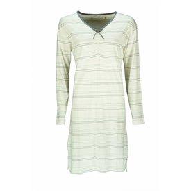 Tenderness Tenderness Dames Nachthemd  gebroken Wit Streep