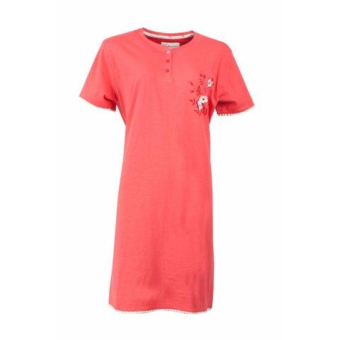 Tenderness Dames Nachthemd korte mouw Roze