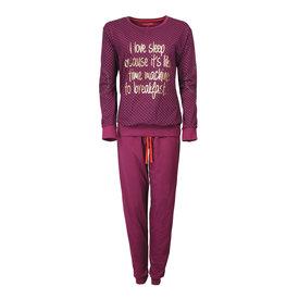 Irresistible Irresistible Dames Pyjama Paars met Goudkleurige print IRPYD2604A