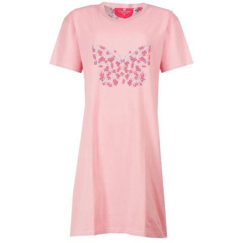 Tenderness Dames Nachthemd Licht Roze Vlinder TENGD1505A