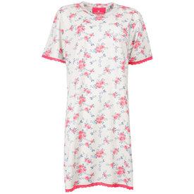 Tenderness Tenderness Dames Nachthemd Roze met Bloemen print TENGD1504A