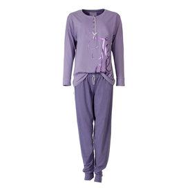 Tenderness Tenderness Dames Pyjama Paars TEPYD1410A