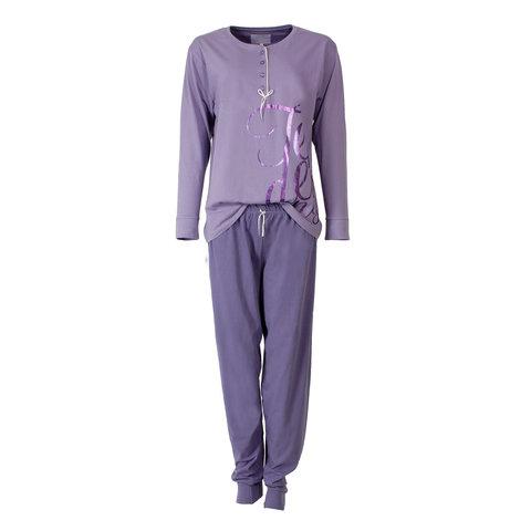 Tenderness Dames Pyjama Paars TEPYD1410A