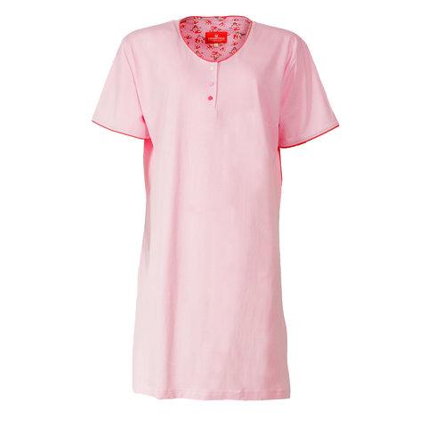 Tenderness Dames Nachthemd Lichtroze TENGD1402B