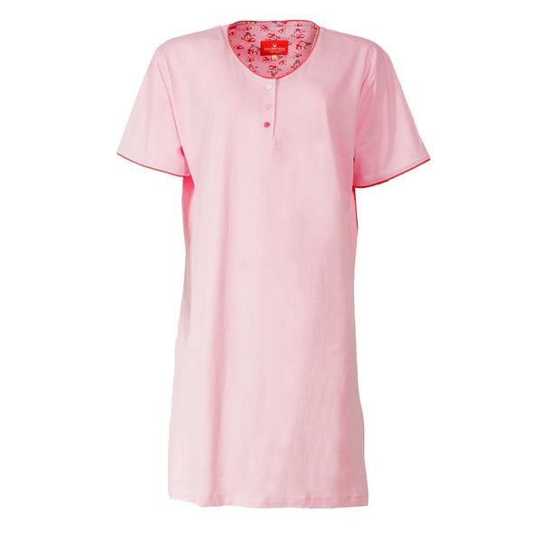 Tenderness Tenderness Dames Nachthemd Lichtroze TENGD1402B