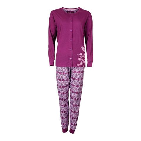 Tenderness Dames Pyjama Paars TEPYD2603B