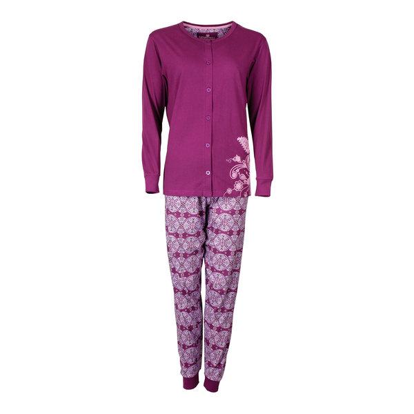 Tenderness Tenderness Dames Pyjama Paars TEPYD2603B