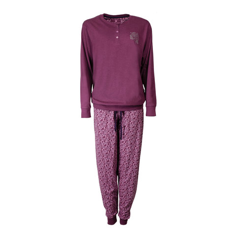 Tenderness Dames Pyjama Paars TEPYD2604B