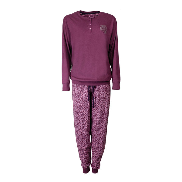 Tenderness Tenderness Dames Pyjama Paars TEPYD2604B