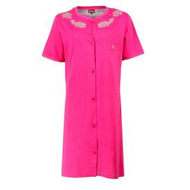 Medaillon Medaillon Dames Nachthemd Roze Doorknoop model MENGD1606A