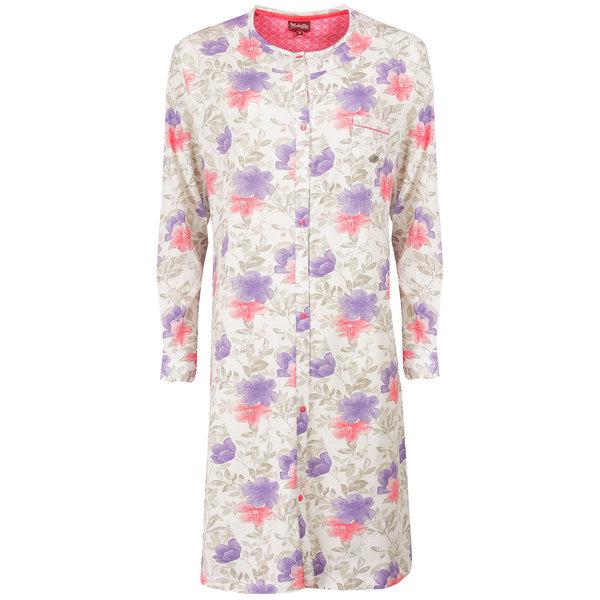 Medaillon Medaillon Dames Nachthemd bloem Doorknoop model MENGD1503A