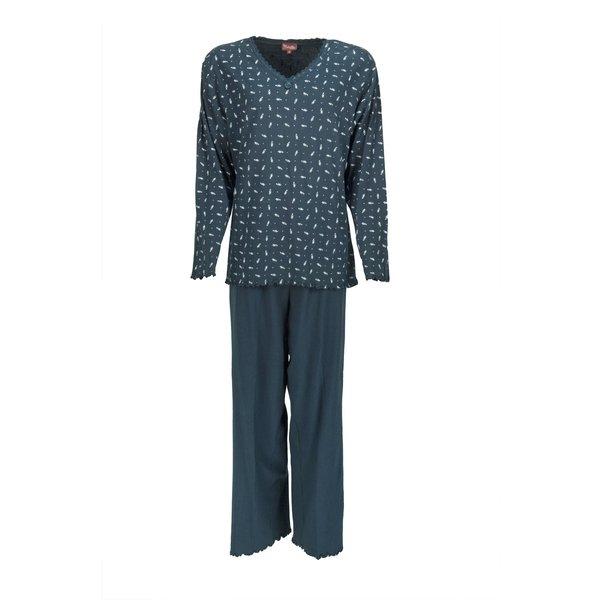 Medaillon Medaillon Dames Pyjama Blauw MEPYD1103A
