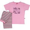 AnnaRebella Roze Meisjes Pyjama Roze ANPYM1006B