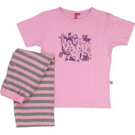 Merkloos AnnaRebella Roze Meisjes Pyjama Roze ANPYM1006B