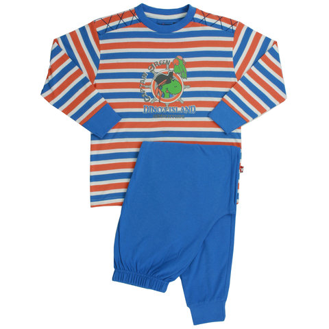 Blue Dock jongens pyjama Blauw BDPYX1301B