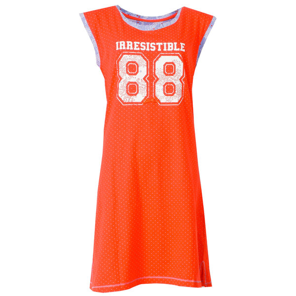 Irresistible Irresistible Dames nachthemd Oranje IRNGD1502A