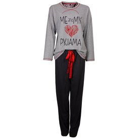 Irresistible Irresistible Dames Pyjama Grijs IRPYD2402A