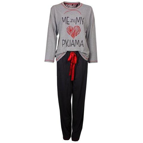 Irresistible Dames Pyjama Grijs IRPYD2402A