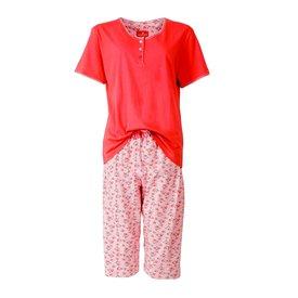 Tenderness Tenderness dames pyjama Rood TEPYD1401B