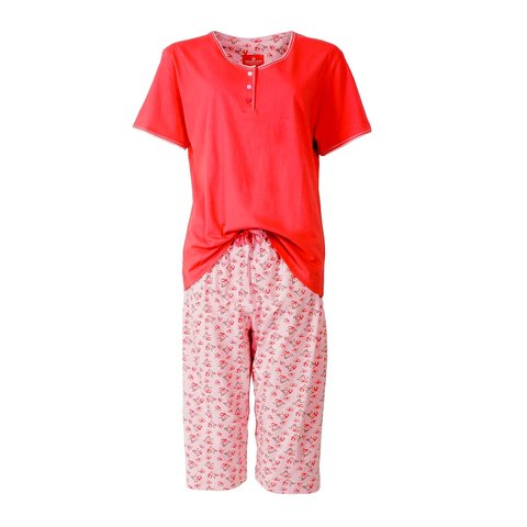 Tenderness dames pyjama Rood TEPYD1401B
