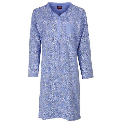 Medaillon dames nachthemd Blauw MENGD2406A