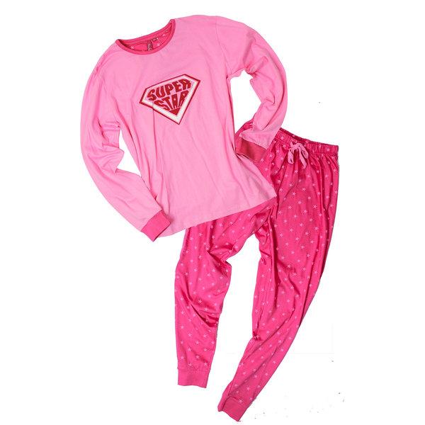 Merkloos Annarebella Roze meisje pyjama  ANPYM2604A