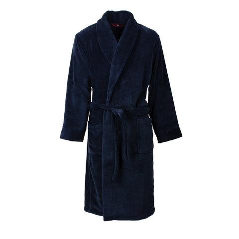 Paul Hopkins heren badjas Donker Blauw PHBRH2601B