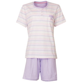 Tenderness Tenderness dames shortama lavendel paars TESAD1802A