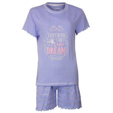 Irresistible Dames shortama Lavendel Blauw IRSAD1802A