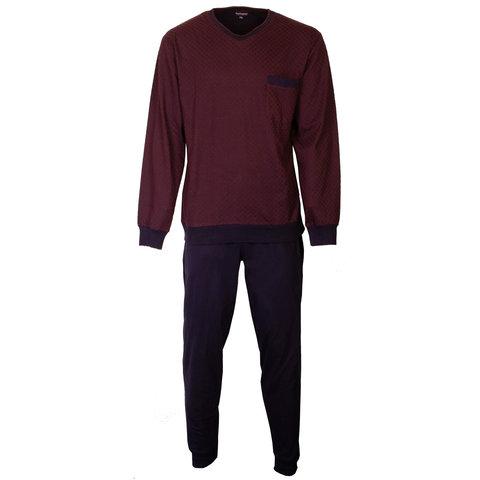 Paul Hopkins Heren Pyjama Blauw PHPYH1803A