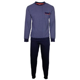 Paul Hopkins Paul Hopkins Heren Pyjama Blauw PHPYH1801A
