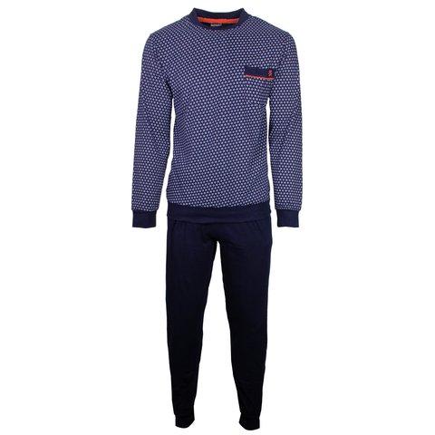 Paul Hopkins Heren Pyjama Blauw PHPYH1801A