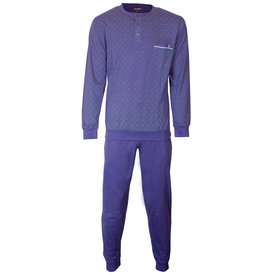 Paul Hopkins Paul Hopkins Heren Pyjama Blauw PHPYH1805A