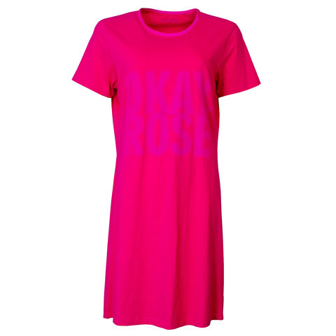 Temptation  Dames Bigshirt nachthemd slaapkleed Donker Roze TPNGD1805A