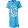 Temptation  Dames Bigshirt nachthemd slaapkleed Licht Blauw TPNGD1808A