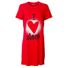 Temptation  Dames Bigshirt nachthemd slaapkleed Rood TPNGD1811A
