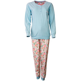 Tenderness Tenderness Dames Pyjama Licht Blauw TEPYD1802A