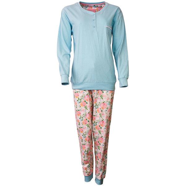 Tenderness Tenderness Dames Pyjama Licht Blauw TEPYD1802A