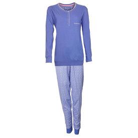 Tenderness Tenderness Dames Pyjama Kobalt Blauw TEPYD1806A
