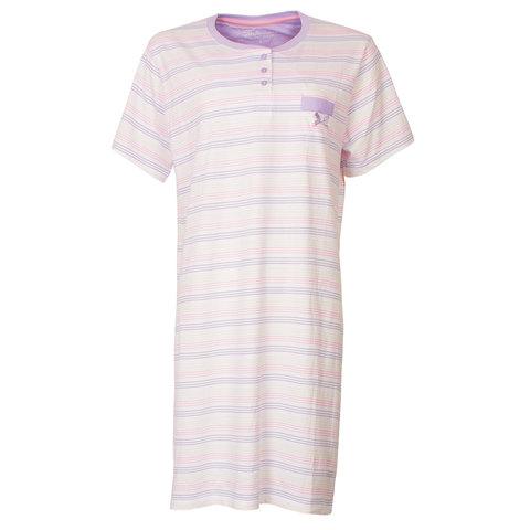 Tenderness Dames Nachthemd Slaapkleedje Paars TENGD1803A