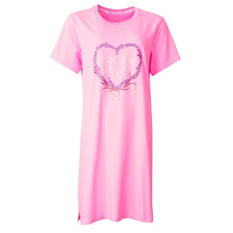 Tenderness Dames Nachthemd Slaapkleedje Roze TENGD1805A