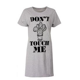 Tenderness Temptation Dames Nachthemd Grijs melange TPNGD1714A