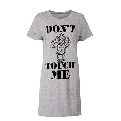 Temptation Dames Nachthemd Grijs melange TPNGD1714A